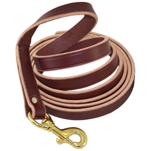 Leather Protection Leash - No Handle