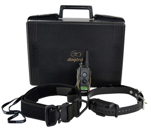 Dogtra 1900S with E-Lusive & Collar (no handle) - Black
