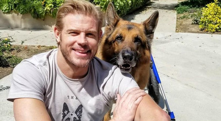 Walkin' Pets and Trevor Donovan Join Forces to Help Retired Police K-9