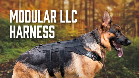 Modular LLC Harness - Grab Handles and MOLLE Panels for Lift/Carry