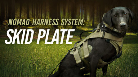 Nomad Harness Skid Plate Body- Hazard Protection for Active Dogs