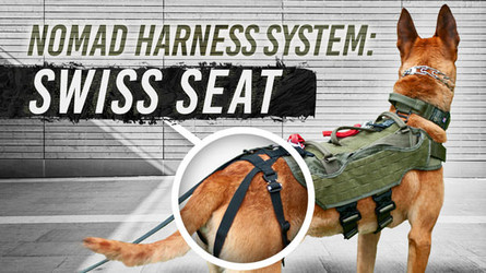 Nomad Harness Swiss Seat - Canine Rappel Harness