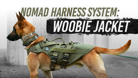 Nomad Harness Woobie Jacket- Waterproof Liner Canine Poncho