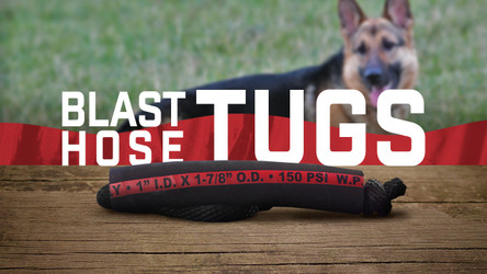 Blast Hose Tug Toys For Working Dogs