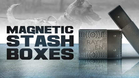 How Magnetic Stash Boxes Enhance Scent Training For Dogs