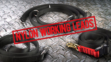 Nylon Working Dog Leads - Police and Tactical Product Review