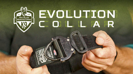 The Evolution K9 Collar- Versatile Nylon Collar for Working Dogs