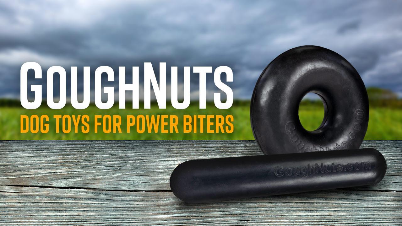 GoughNuts Heavy Duty K9 Chew Toys