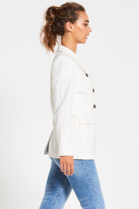 Schoolboy Blazer in White
