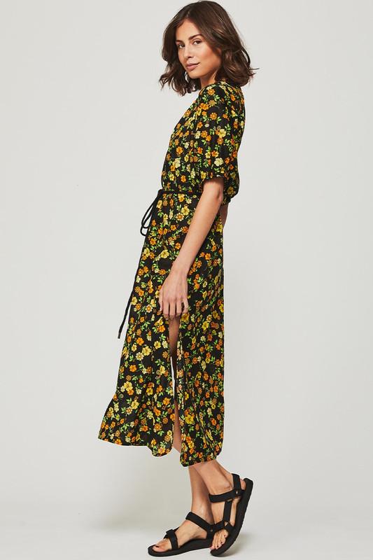 Gypsy Dress in Disco Meadow