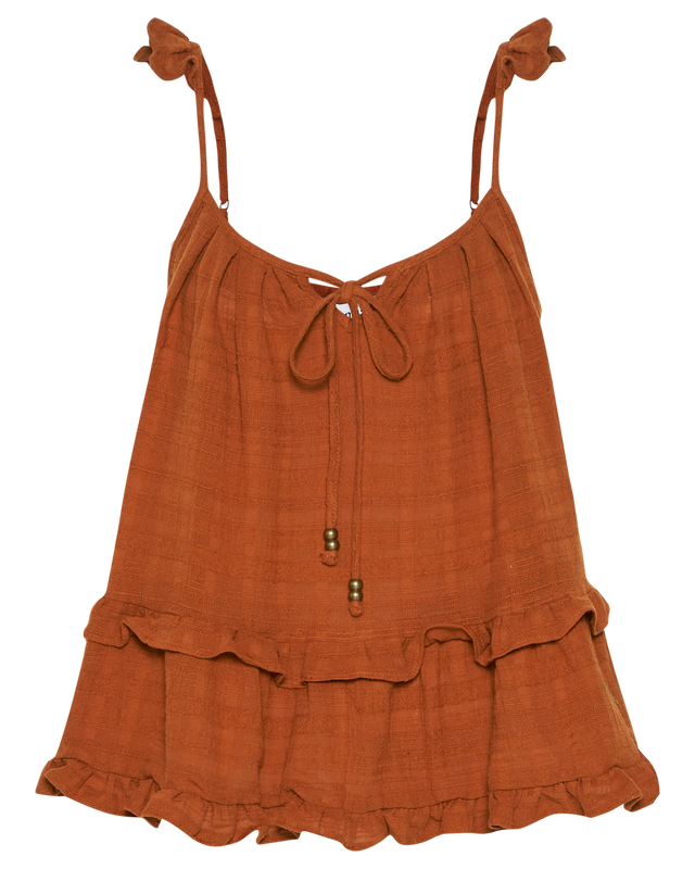 Willow Cami in Terracotta