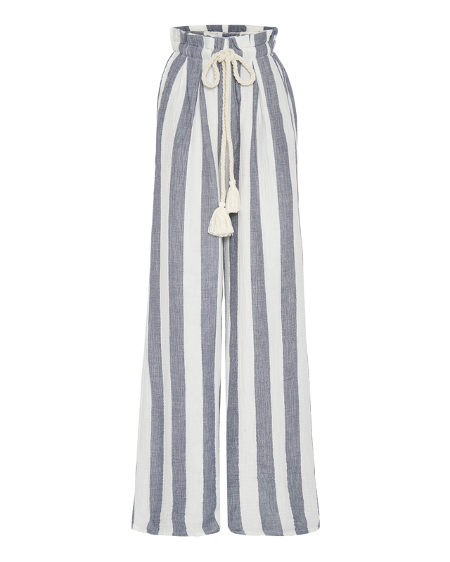Lounge Pant in Ocean Stripe