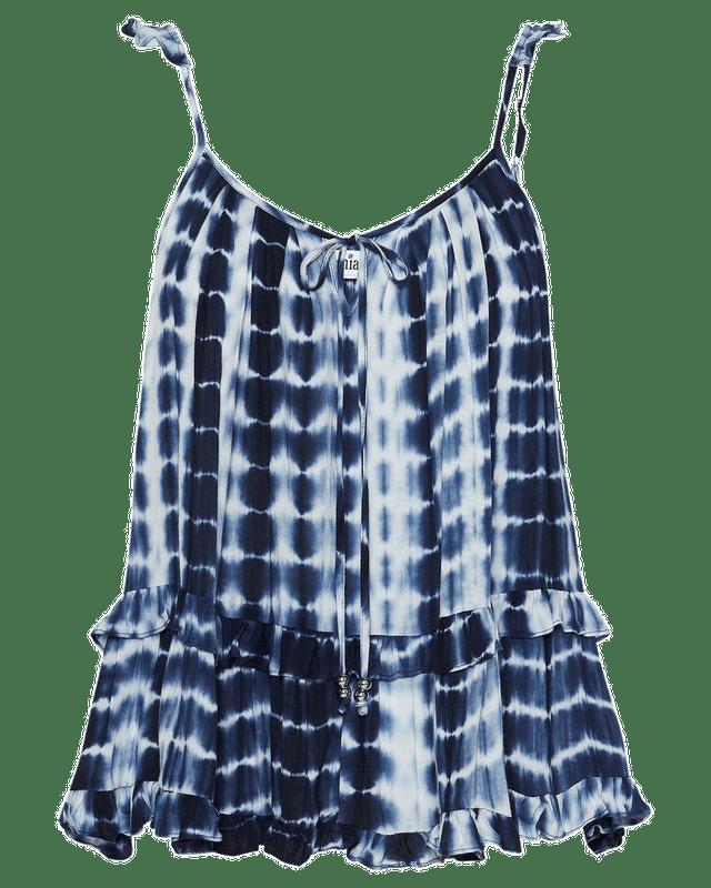 Willow Cami in Ocean Tie Dye