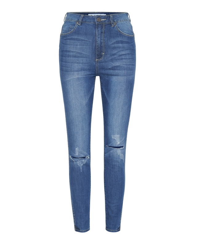 High Waisted Skinny Jean in Light Wash