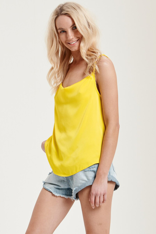 Claire Cami in Mellow Yellow