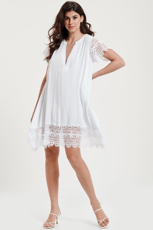 Dreamer Dress in White