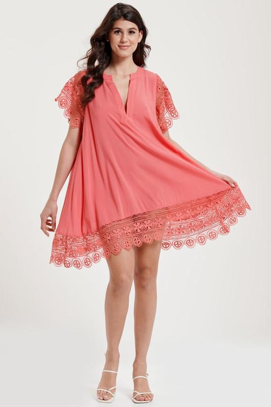 Dreamer Dress in Watermelon