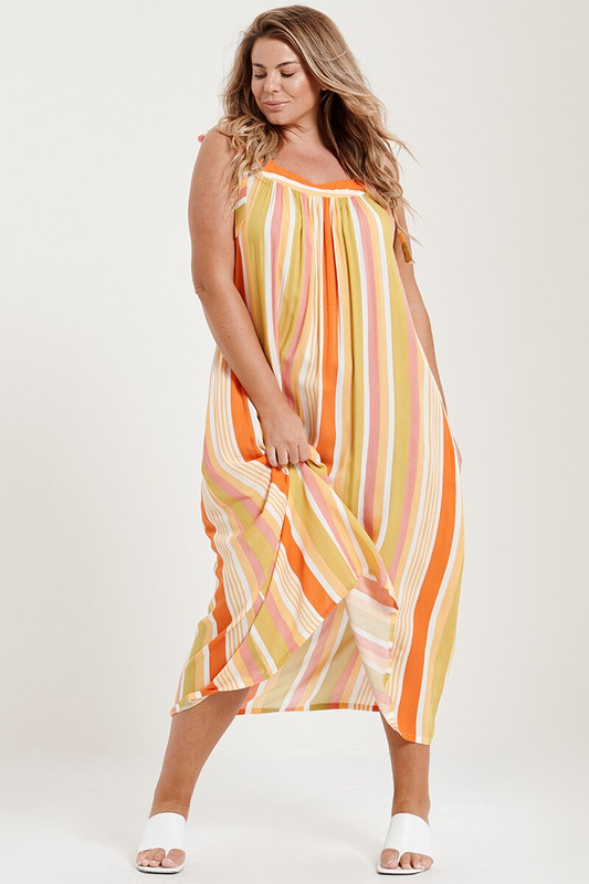 Cora Dress in Island Time