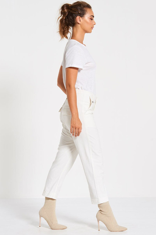 Utility Pant in White