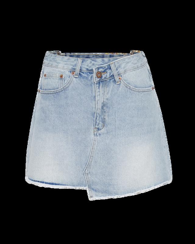 Denim Skirt in Ice Blue