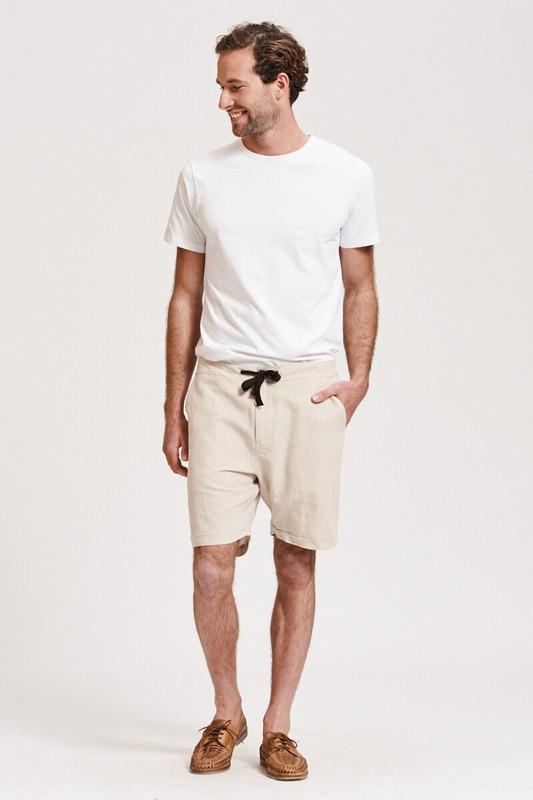 Mister Linen Short in Sand