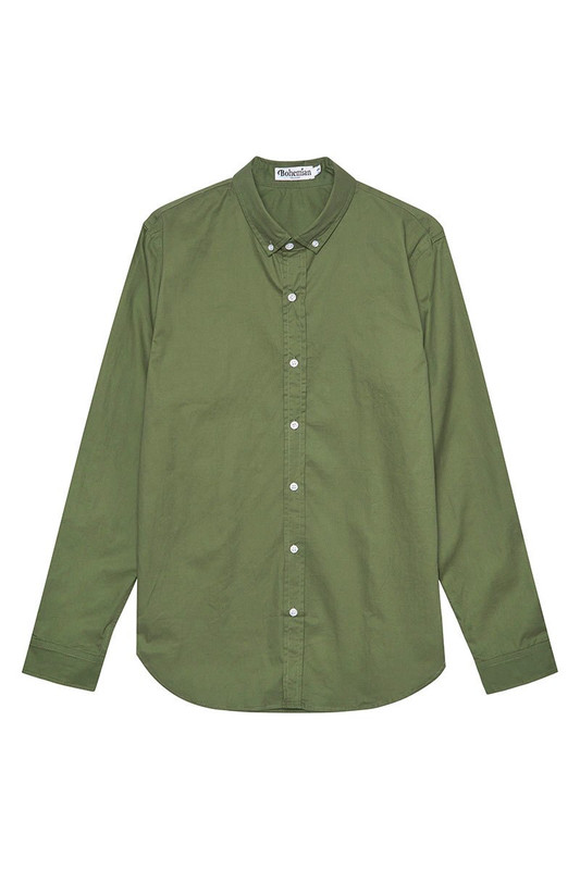 Mister Classic Shirt in Khaki