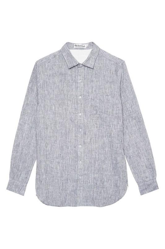 Mister Chambray Linen Shirt