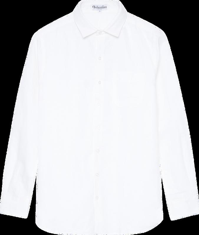 Mister White Linen Shirt