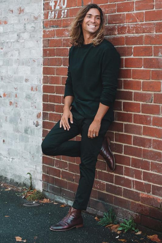 Mister Sandro Tee in Black