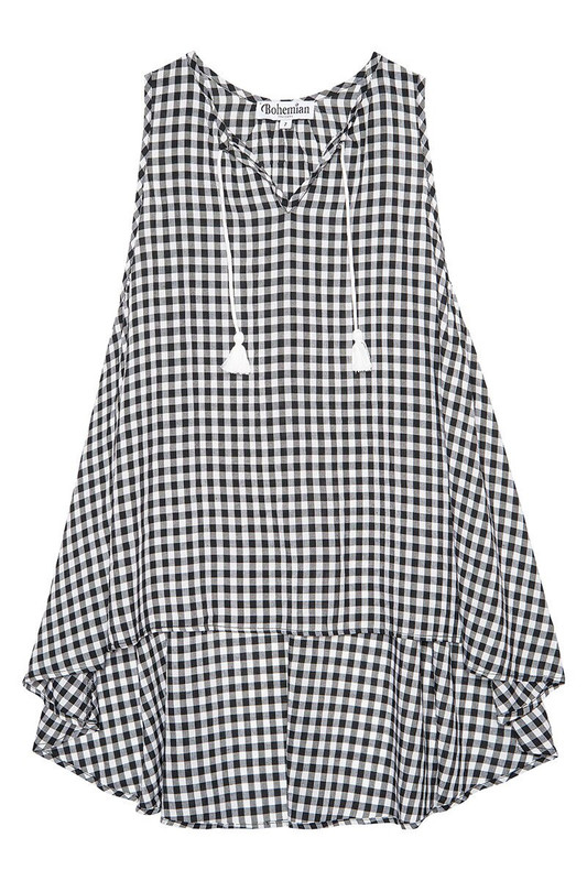 Little Laidback Dress in Gingham