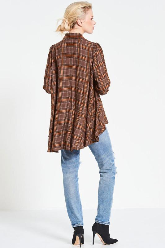 Winter Classic Shirt in Walnut Plaid