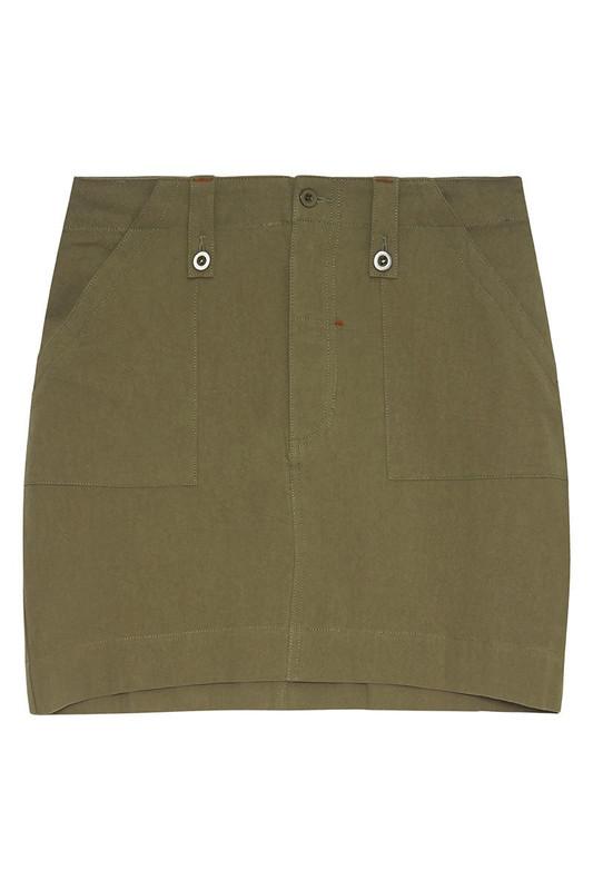 Utility Skirt in Khaki