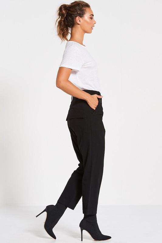Utility Pant in Black
