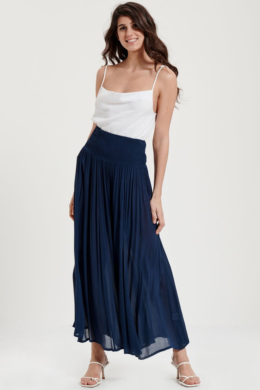 Palazzo Pant in Navy