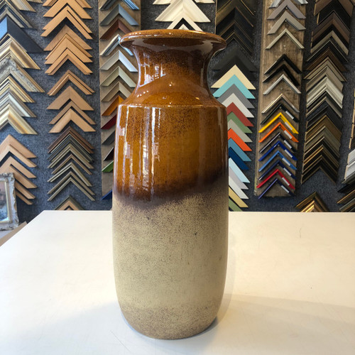 Scheurich - Amber and Stone Tall Vase