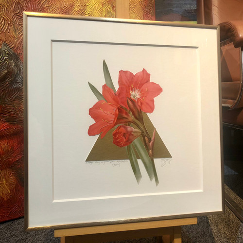 Owen Berry - Floral Collage I