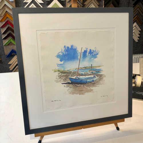 David Kearney - Sunny Day at Wells next the Sea  SOLD