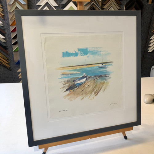 David Kearney - Harbour at Wells next the Sea  SOLD