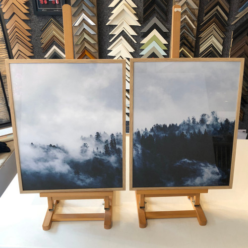Misty Forest Diptych