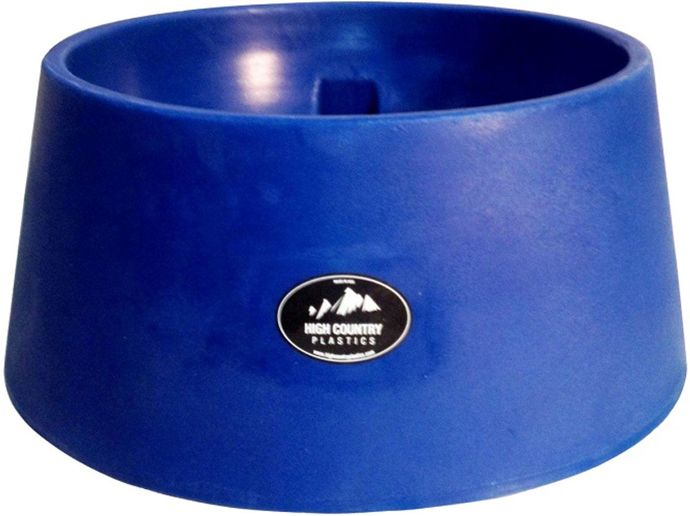 Blue High Country Plastics Auto Water Basin; 15 gallons