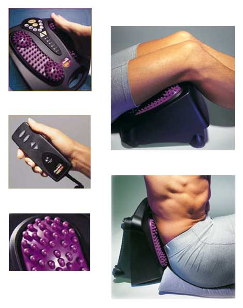 Thumper Versa Pro Professional Lower Body Deep Muscle Massager is one of the best massagers for the lower half of the body ranging from the lower back, legs, and feet.