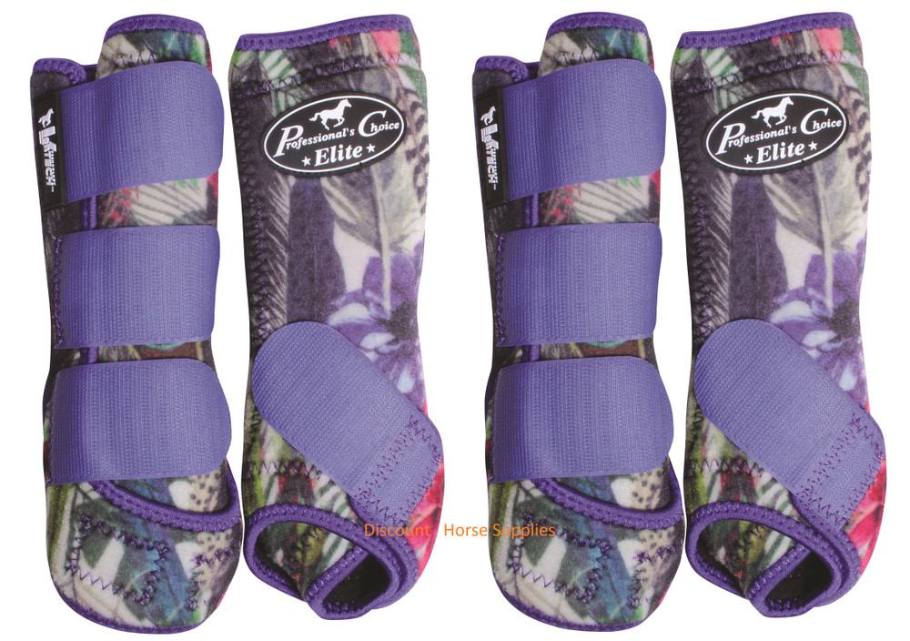 Professional's Choice Ventech Elite Value Pack in Limited Edition Feather.  The value combo pack includes both the front and rear Professional's Choice Ventech Elite Boots.