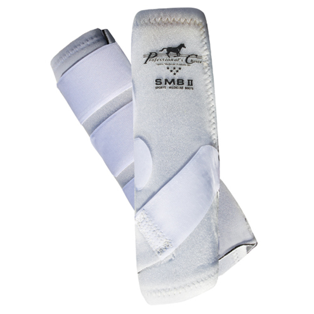Professional's Choice SMBII Sport Medicine Boots in white.