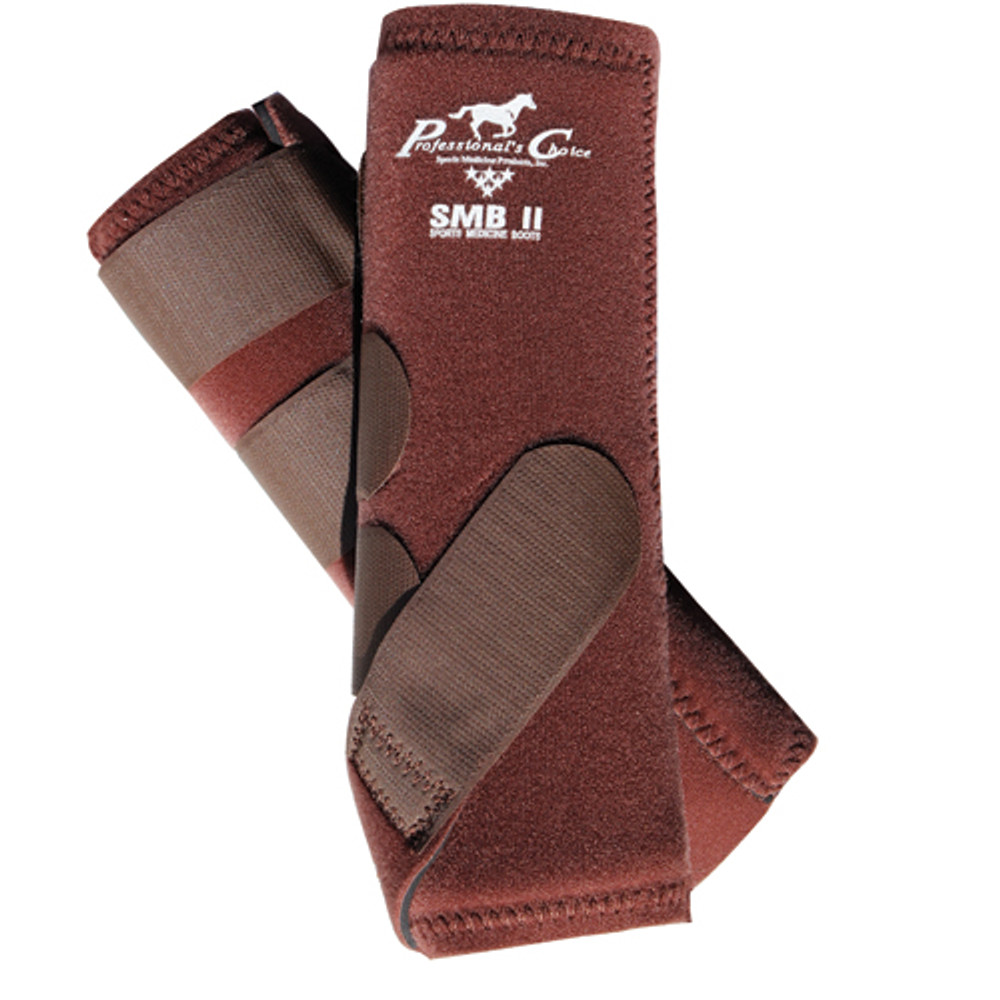 Professional's Choice SMBII Sport Medicine Boots in chocolate.