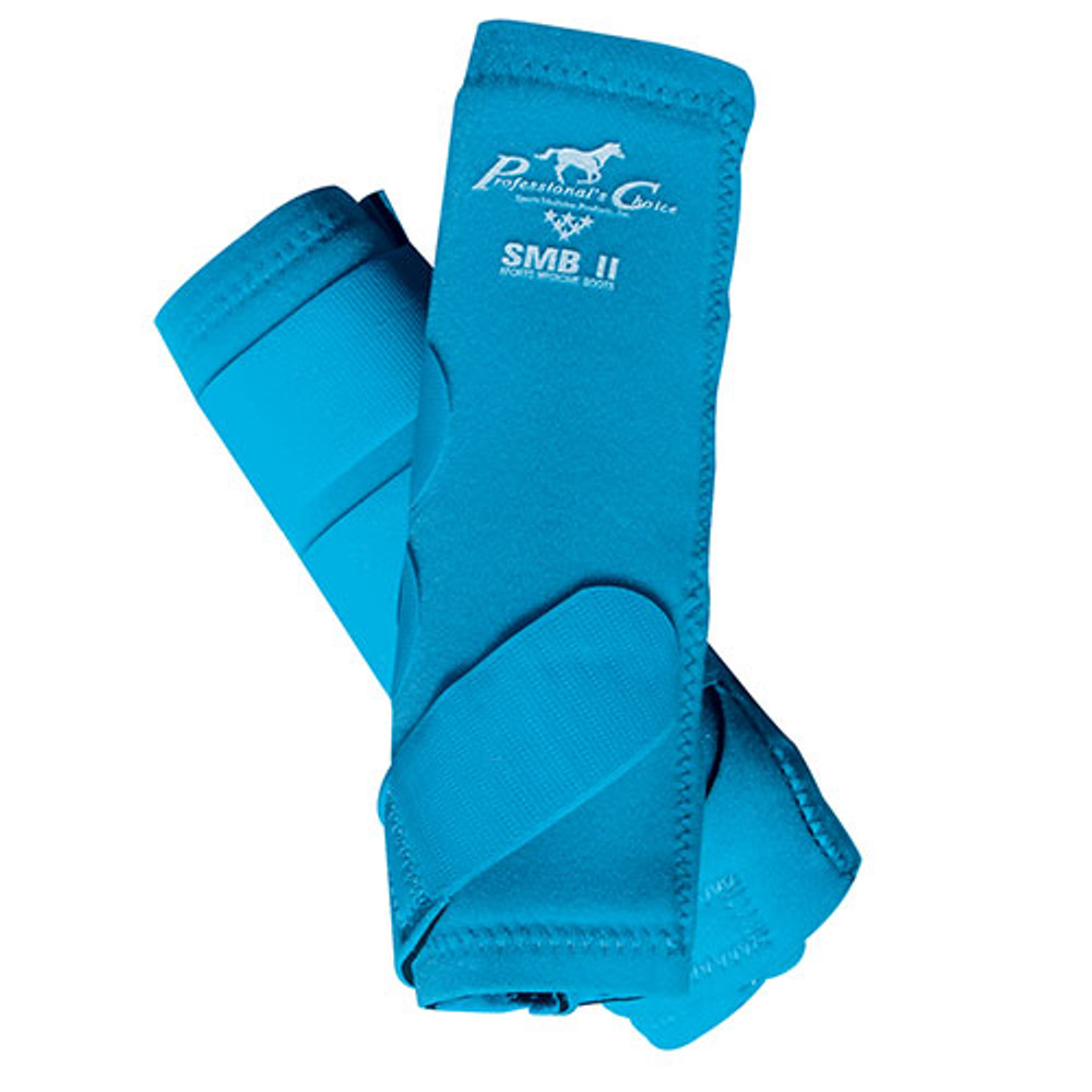 Professional's Choice SMBII Sport Medicine Boots in pacific blue.