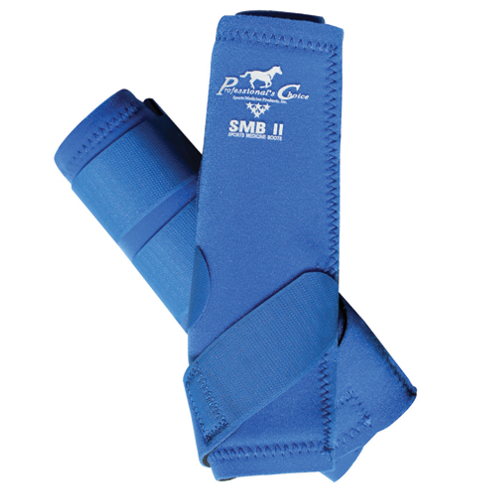 Professional's Choice SMBII Sport Medicine Boots in royal blue.