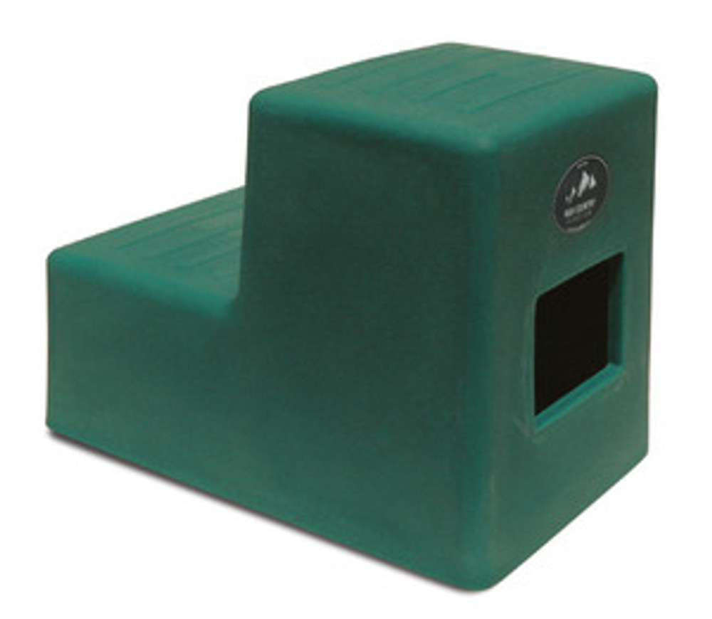High Country Plastics 2 Step Horse Mounting Block; a great step and best seller