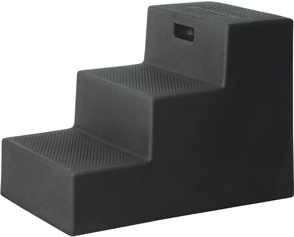 High Country Plastics 3 Step Mounting Block in Black