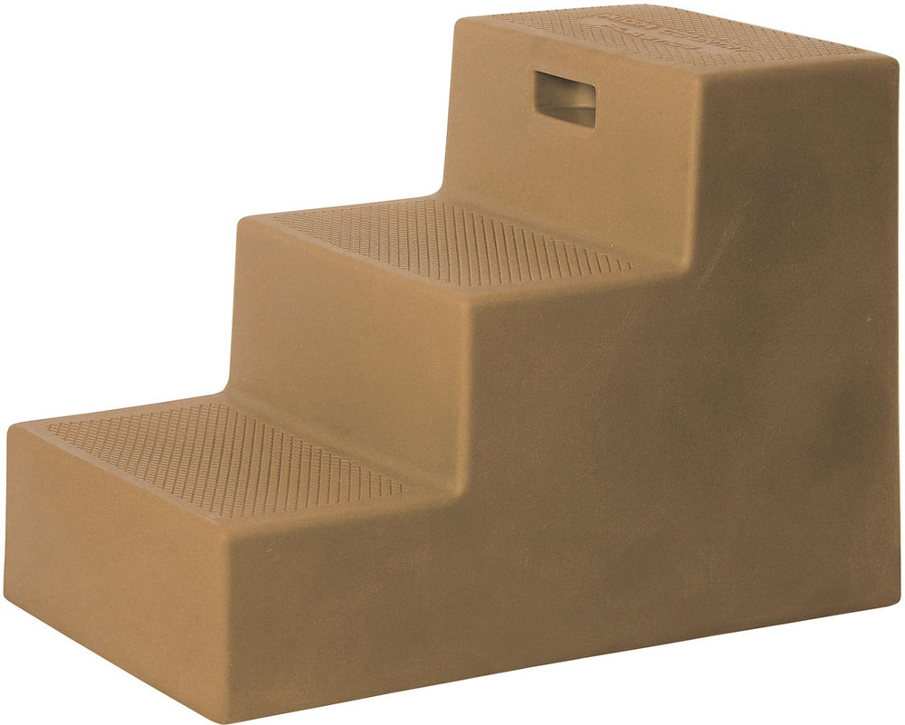 High Country Plastics 3 Step Mounting Block in Tan