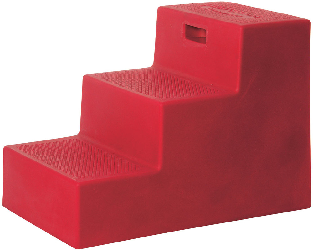 High Country Plastics 3 Step Mounting Block in Red